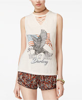 American Rag Juniors' Flag Rock N' Roll Darling Graphic Tank Top, Only at Macy's