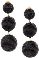 Rebecca de Ravenel Three Drop Beaded Earring