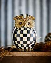 Mackenzie Childs MacKenzie-Childs Courtly Check Owl
