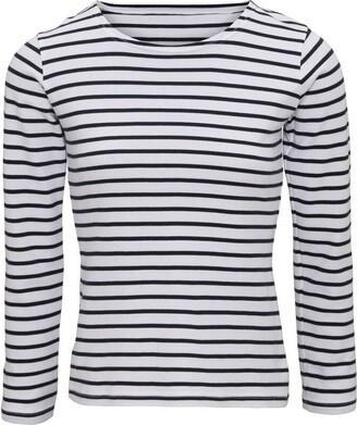 Asquith Fox Asquith & Fox Women's Mariniere Coastal Long Sleeve tee Polo Shirt
