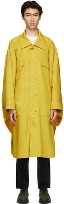 Issey Miyake Yellow Cloth Coat