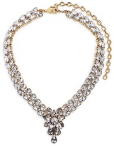Erickson Beamon 'Parlor Trick' 24k gold plated Swarovski crystal necklace