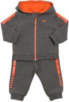 Armani Junior Cotton Sweatshirt & Jogging Pants