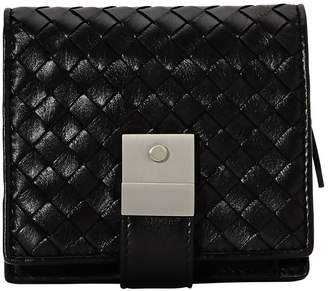 Bottega Veneta Velvet calf leather wallet