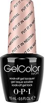 OPI Gel Color Nail Polish, Put It in Neutral, 0.5 Ounce