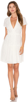 Diane von Furstenberg Kaley Two Eyelet Dress