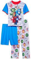 Marvel Marvel's Avengers 3-Pc. Pajama Set, Little Boys (4-7) and Big Boys (8-20)