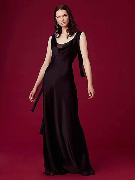 Diane von Furstenberg Shoulder Knot Slip Gown
