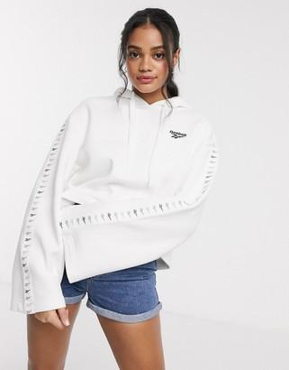 Reebok Classics Reebok Classic Velour hoodie in white