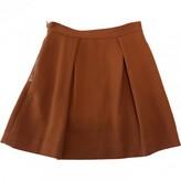 3.1 Phillip Lim Orange Wool Skirts