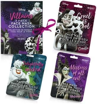 Disney Villains Sheet Face Masks Gift Set