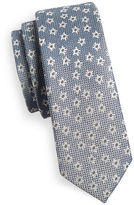 1670 Floral Sheen Slim Tie