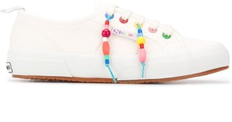 Mira Mikati X Superga beaded sneakers