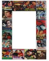 Handcrafted Wood Phto Frame from India (4x6), 'Bollywood Magic'