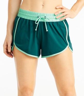 L.L. Bean Women's ReNew Swimwear, Shorts Colorblock