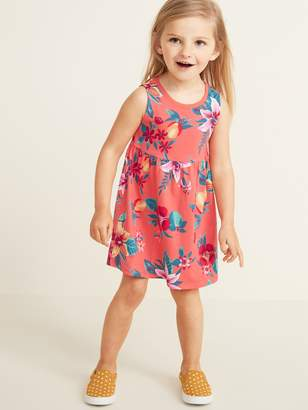 Old Navy Sleeveless Fit & Flare Dress for Toddler Girls