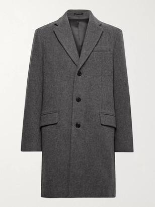 Club Monaco Melange Wool-Blend Coat - Men - Gray