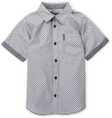 Ben Sherman Boys 8-20) Printed Short Sleeve Shirt