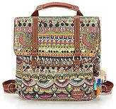 Sakroots Convertible Tasseled Canvas Backpack