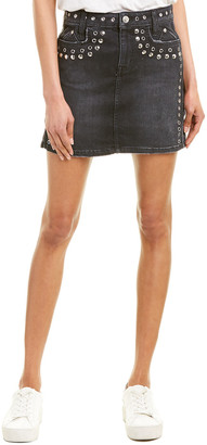 Current/Elliott The 7-Pocket Mini Skirt