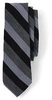 Classic Men's Silk Wool Herringbone Stripe Necktie-Mossy Bark Floral