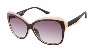 U.S. Polo Assn. U.S. Polo Association Women's PA5045 OXRS Non Polarized Butterfly Sunglasses