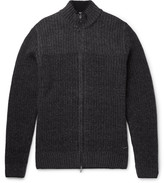 Hugo Boss - Wool And Cashmere-blend Zip-up Cardigan