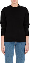 Proenza Schouler Women's Zipper-Embellished Cashmere-Blend Sweater