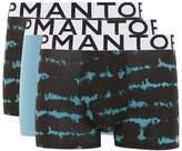 Topman Dark Blue Tie Dye Trunks 3 Pack*