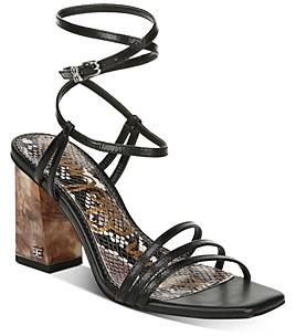 Sam Edelman Women's Doriss Strappy High-Heel Sandals