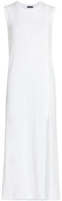 ATM Anthony Thomas Melillo Slub Jersey Muscle Tank Dress
