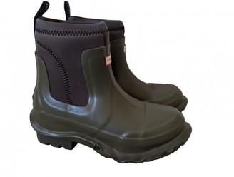 Stella McCartney Khaki Rubber Boots
