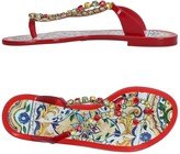 Dolce & Gabbana Toe strap sandals - Item 11220867