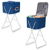 Picnic Time Party Cube - Chicago Bears Digital Print - Navy