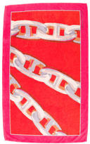 Hermes Printed Beach Towel