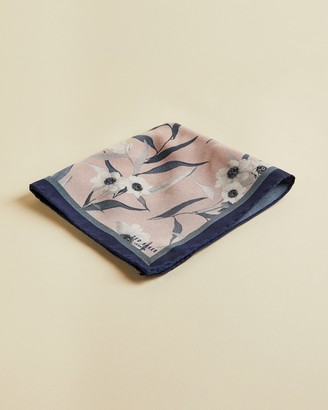 Ted Baker DENIFLO Silk floral pocket square