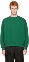 Alexander Wang Green Oversized Pullover