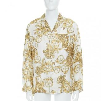Versace Gold Silk Shirts