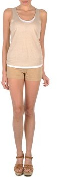 Majestic SOLENE women's Shorts in Beige
