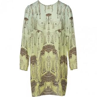 Matthew Williamson Green Silk Dress for Women