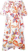 Peter Pilotto floral bardot dress