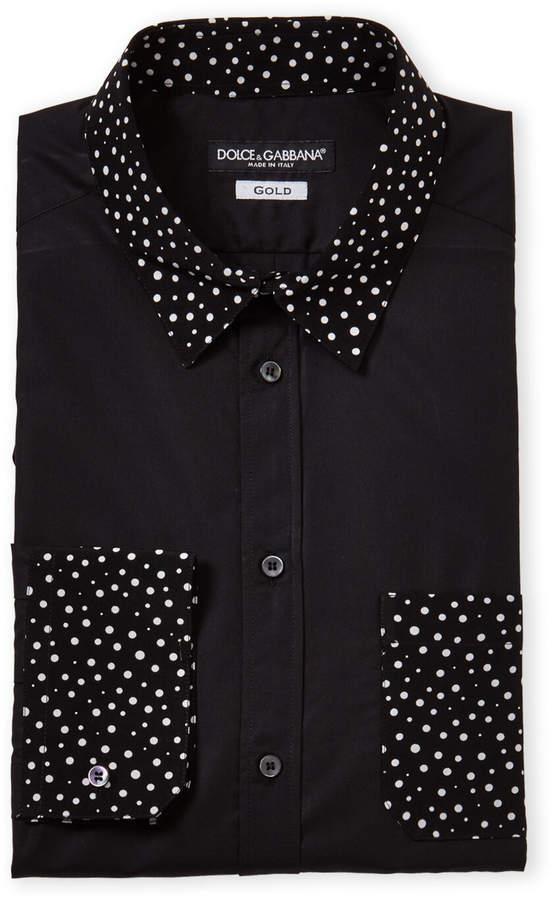 5d33339a4aa0 Dolce And Gabbana Men Silk Shirt - ShopStyle