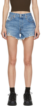 Levi's Levis Blue 501 Original Shorts