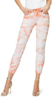 Ramy Brook Katie Tie-Dye Ankle Cropped Jeans