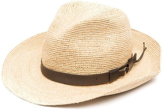 P.A.R.O.S.H. Woven-Raffia Sun Hat