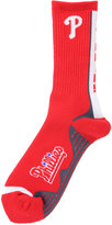 For Bare Feet Philadelphia Phillies Team Vortex Crew Socks