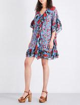 See by Chloe Floral-print silk crepe de chine dress