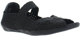 Bernie Mev. Pull-On Mary Jane Flat Sandals - Chick