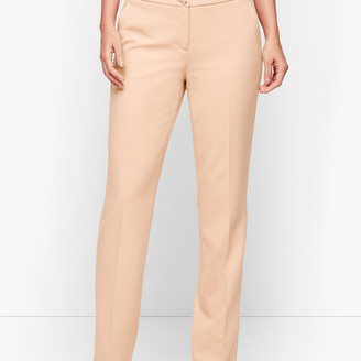 Talbots Luxe Italian Double Weave Collection - Barely Boot Pants