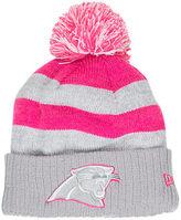 New Era Women's Carolina Panthers NFL 2016 Breast Cancer Awareness Sport Knit Hat